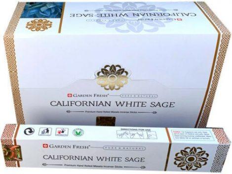 Garden Fresh Californian White Sage-Fehér Zsálya  Masala Füstölő