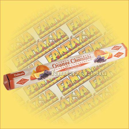 Tulasi Narancs és Csokoládé illatú füstölő / Tulasi Orange Chocolate