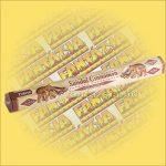 Tulasi Szantálfa és fahéj illatú füstölő / Tulasi Sandal Cinnamon
