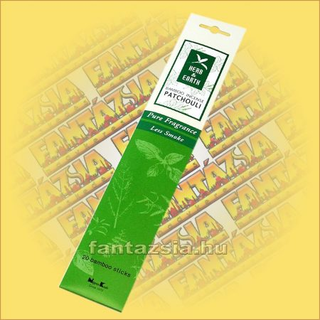 Pacsuli-Herb and Earth Japán füstölő