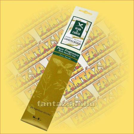 Szantálfa-Herb and Earth Japán füstölő