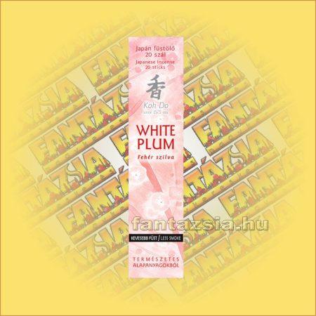 White Plum (Fehér Szilva) Koh Do Japán füstölő