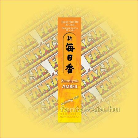 Amber (Borosttyán) Morning Star Japán füstölő