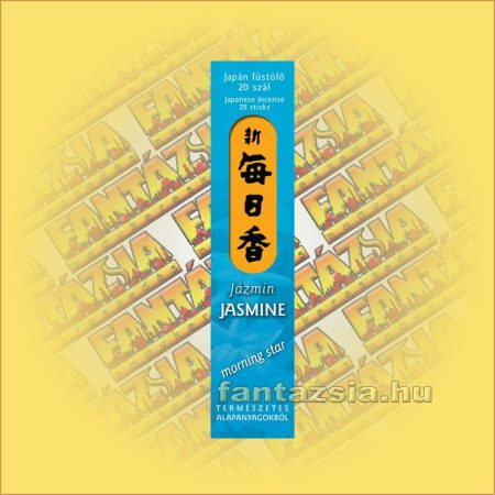 Jasmine (Jázmin) Morning Star Japán füstölő