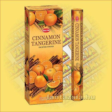 HEM Fahéj Mandarin illatú indiai füstölő /HEM Cinnamon Tangerine/