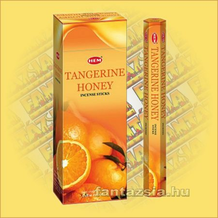 HEM Mandarin Méz illatú indiai füstölő /HEM Tangerine Honey/