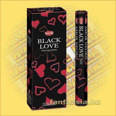 HEM Fekete Szerelem indiai füstölő /HEM Black Love/