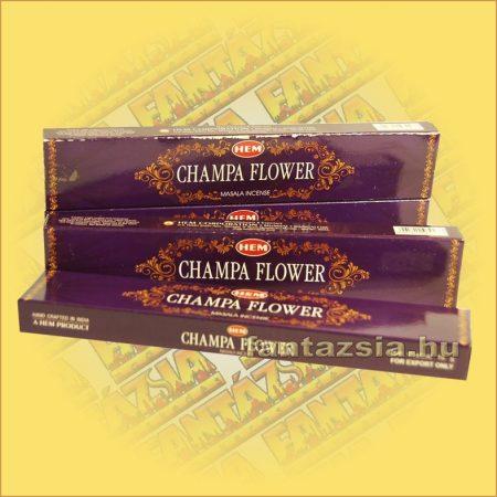 HEM Csampavirág illatú indiai maszala füstölő /HEM Champa Flower/