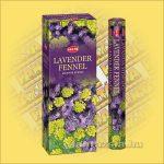 HEM levendula Édeskömény illatú indiai füstölő /HEM Lavender Fennel/
