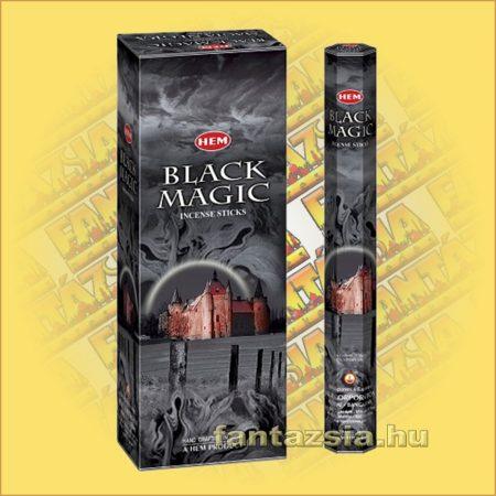 HEM Fekete Mágia indiai füstölő /HEM Black Magic/
