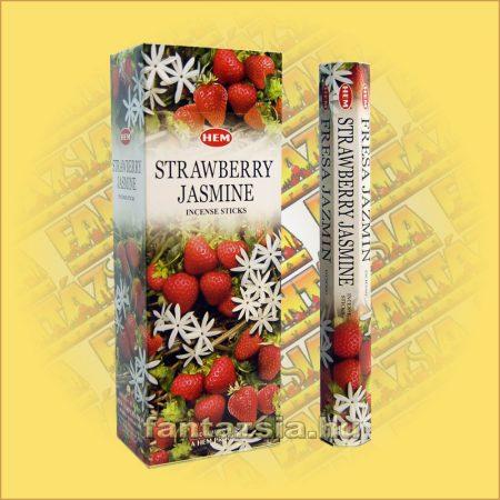 HEM Eper Jázmin illatú indiai füstölő /HEM Strawberry Jasmine/