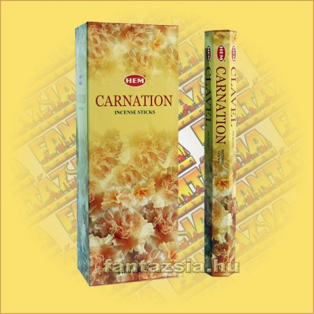 HEM Szegfű illatú indiai füstölő /HEM Carnation/