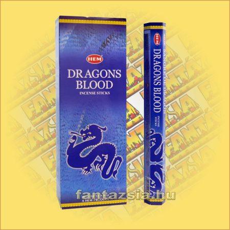 HEM Kék Sárkányvér indiai füstölő /HEM Dragons Blood Blue/