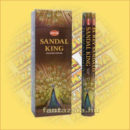 HEM Szantál Király indiai füstölő /HEM Sandal King/