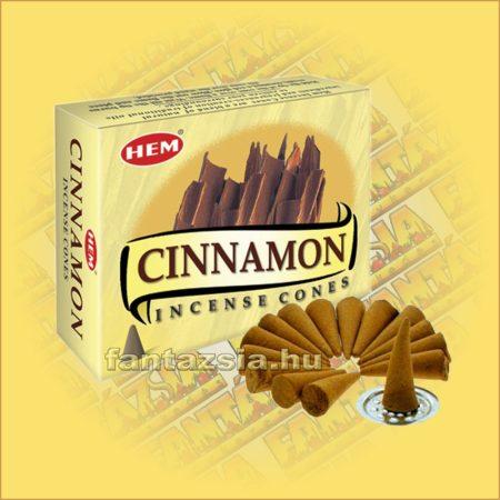 Fahéj Illatú Kúpfüstölő / HEM Cinnamon
