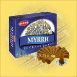Mirha Illatú Kúpfüstölő/ HEM Myrrh