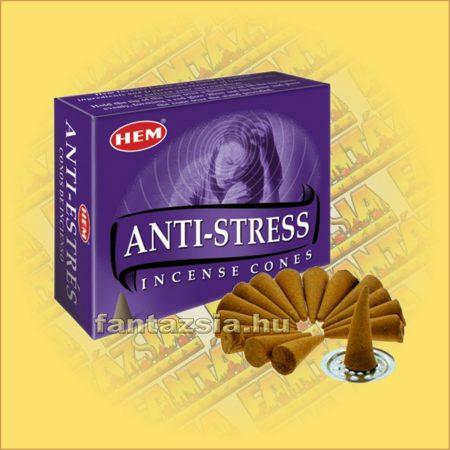 Stresszoldó Kúpfüstölő / HEM Antistress