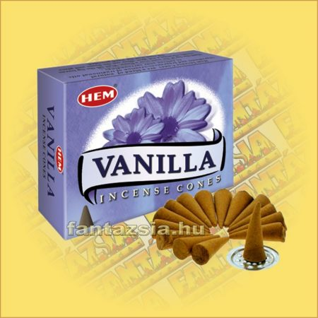 Vanília Illatú Kúpfüstölő / HEM Vanilla