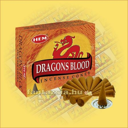Sárkányvér Kúpfüstölő / HEM Dragons Blood