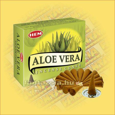 Aloe Vera Illatú Kúpfüstölő / HEM Aloe Vera