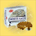 Fehér Zsálya Illatú Kúpfüstölő / HEM White Sage