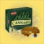 Kender Illatú Kúpfüstölő / HEM Cannabis