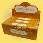 HEM Szantálfa Maszala Füstölő /HEM Natural Series-Sandalwood